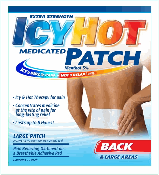picture relating to Icy Hot Coupons Printable known as $0.48 Icy Warm Patch at Walmart! Becs Reductions