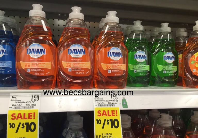 image regarding Printable Dawn Coupons named $0.50 Sunrise Dish Cleaning soap at Schnucks! Becs Special discounts