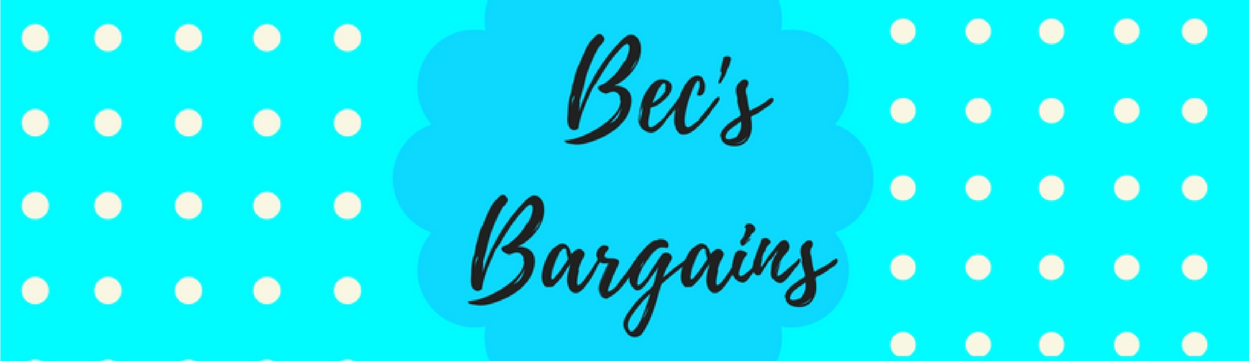 Bec's Bargains
