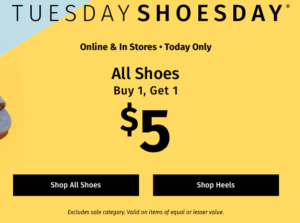 graphic about Charlotte Russe Printable Coupon identify Charlotte Russe: Order Just one Few of Footwear Order A different for $5.00