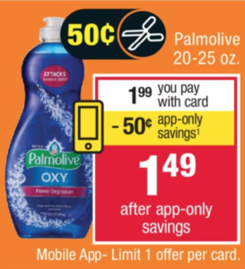 photograph about Palmolive Printable Coupon named $0.99 Palmolive Dish Cleaning soap at CVS - Final Working day! Becs Savings