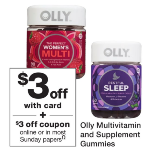 5 99 Olly Vitamins At Walgreens Bec S Bargains